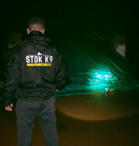 Stok K9 security offer solar farm security